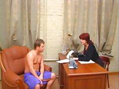 Руската порно во тетки Двајца ученици и Гора