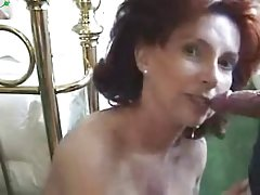 порно фотографии на масти мајки Се готви вечера, заедно со