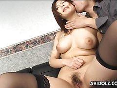 гледајќи порно двојка и ТРАНС Човек со здрав пенис